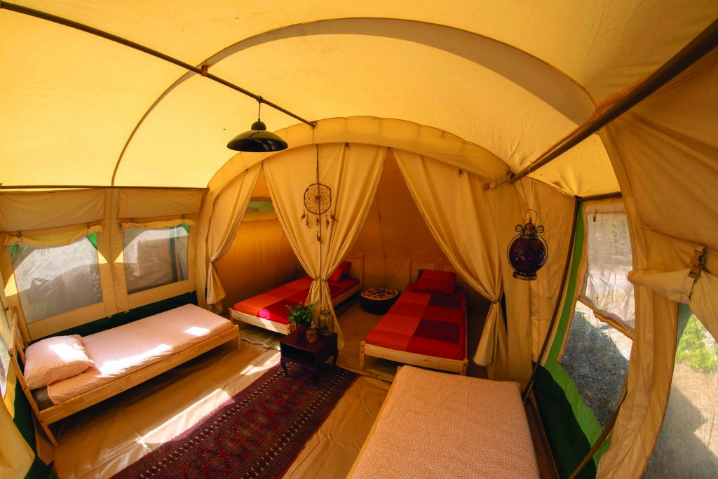 4-bed tent